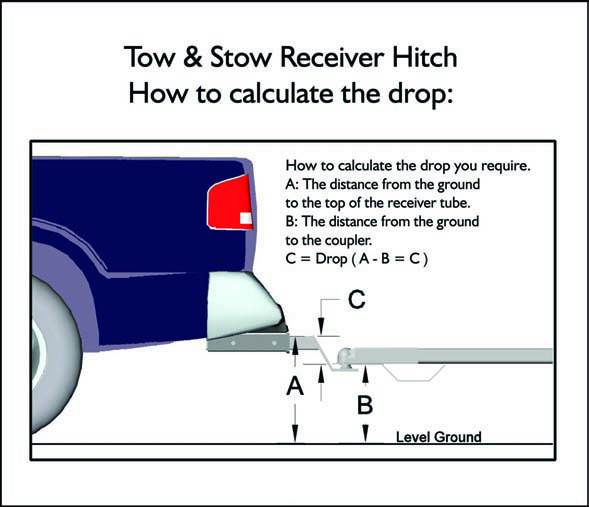 Drop Down Hitch >> Tow Stow Adjustable Ball Mount B W Trailer Hitches